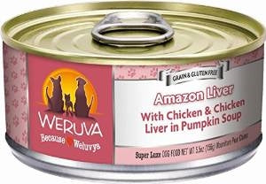 Weruva Amazon Liver for Dogs - 5.5 oz.