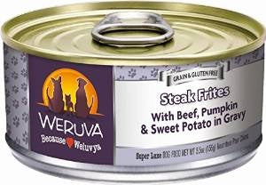 Weruva Steak Frites for Dogs - 5.5 oz.