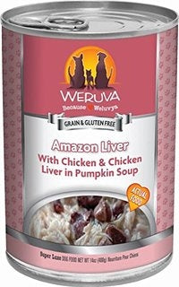 Weruva Amazon Liver for Dogs - 14 oz.