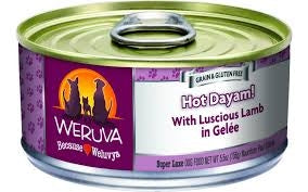 Weruva Hot Dayam! with Luscious Lamb in Gelee 5.5 oz.