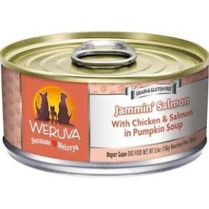 Weruva Jammin' Salmon  for Dogs - 5.5 oz.