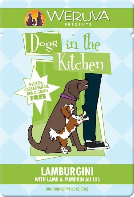 Weruva Dogs in the Kitchen LAMBURGINI - 2.8 oz. Pouch