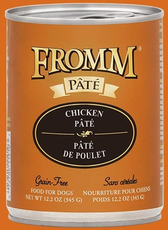 Fromm Chicken Pate Dog Food - 12.2 oz
