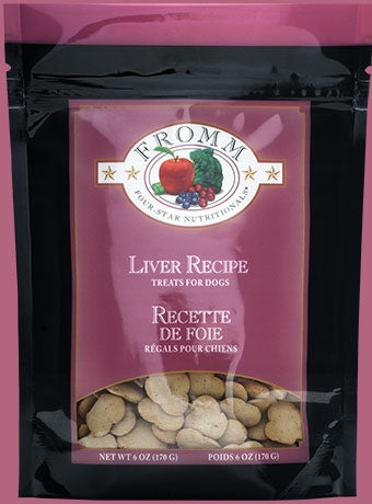 Fromm Liver Recipe Treats for Dogs - 6 oz.