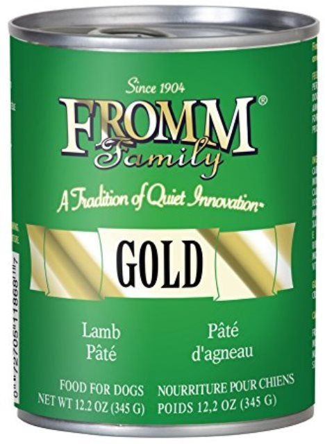 Fromm Gold Lamb Pate Dog Food - 12.2 oz