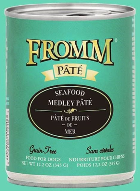 Fromm Seafood Medley Pate Dog Food - 12.2 oz