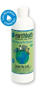 Earthbath Shed Control Green Tea & Awapuhi Shampoo- 16fl oz