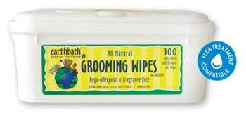 Earthbath Hypo-Allergenic & Fragrance Free Grooming Wipes