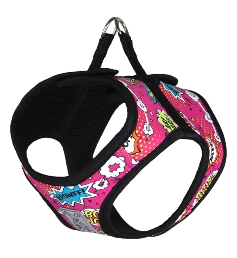 RC Pet Step-In Cirque Dog Harness - Pink Comic Sounds