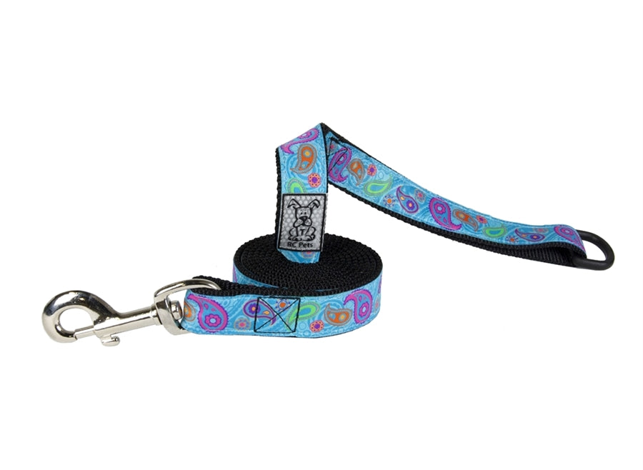 "RC Pet Tropical Paisley Leash - 1""w x 6'L"