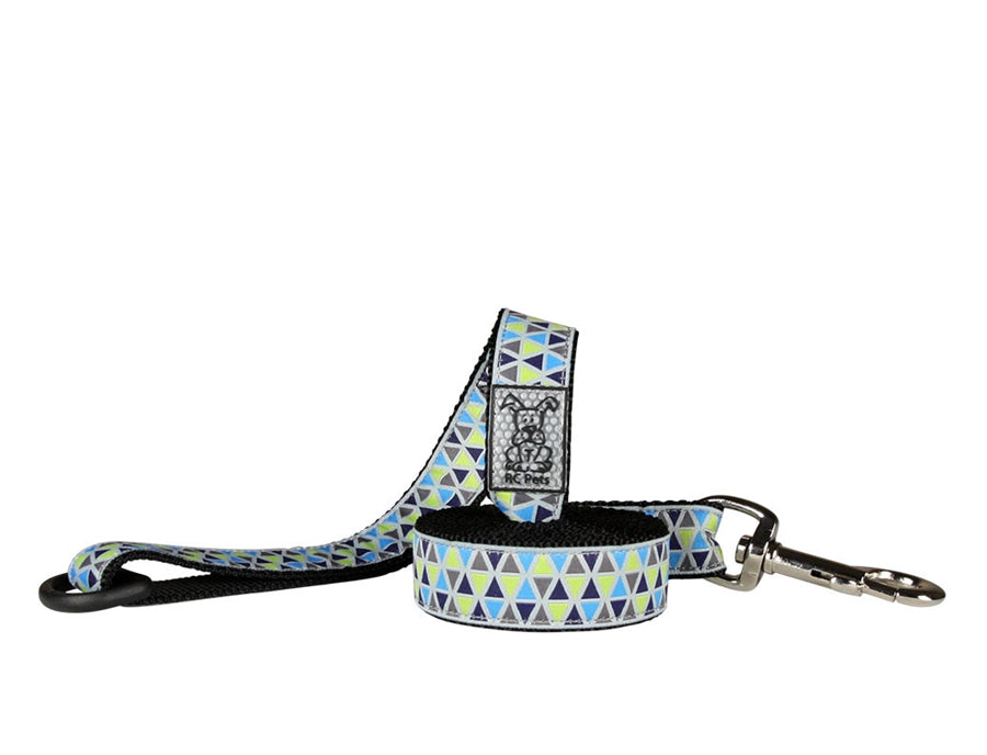 "RC Pet Accute Triangles Leash - 1""w x 6'L"