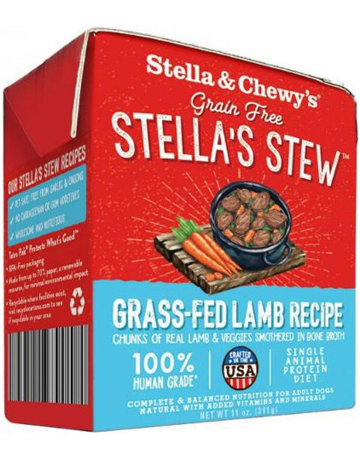 Stella & Chewy's Grain Free Stella's Stew Grass-Fed Lamb Recipe for Dogs - 11 oz.
