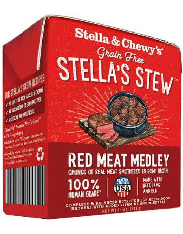 Stella & Chewy's Grain Free Stella's Stew Red Meat Medley for Dogs - 11 oz.