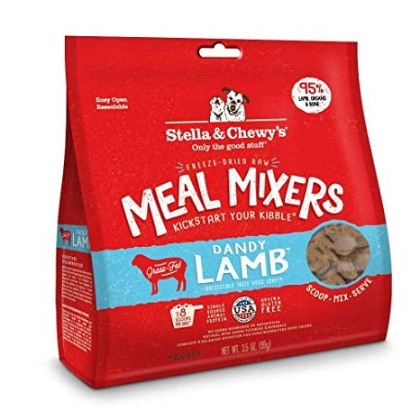 Stella & Chewy's Freeze Dried Dandy Lamb Meal Mixers for Dogs