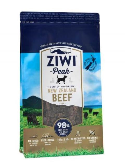 ZIWI Peak Gently Air-Dried New Zealand Beef for Dogs