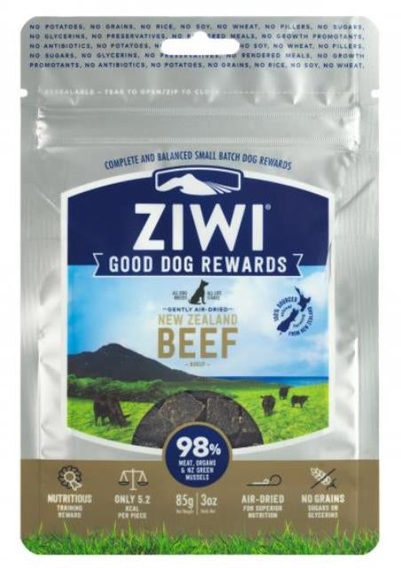 ZIWI Peak Beef Good Dog Rewards Treats - 3 oz.
