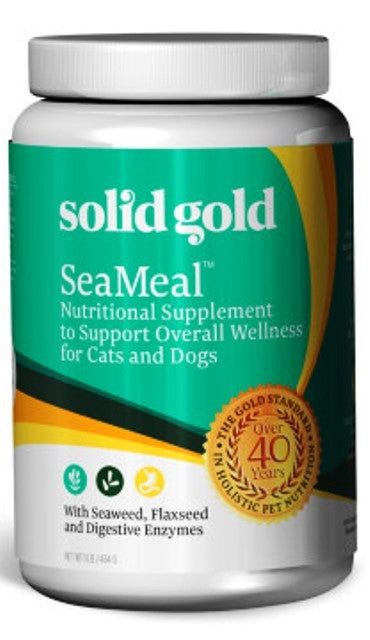 Solid Gold SeaMeal Nutritional Supplement for Dogs & Cats