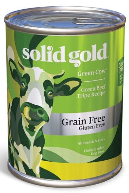 Solid Gold Green Cow Green Beef Tripe - 13.2 oz.