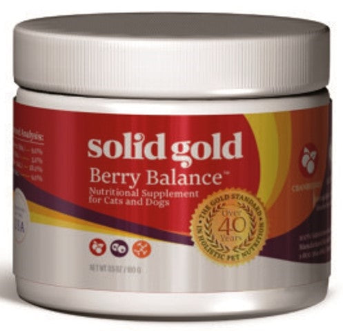 Solid Gold Berry Balance Powder Nutritional Supplement for Dogs & Cats - 3.5 oz
