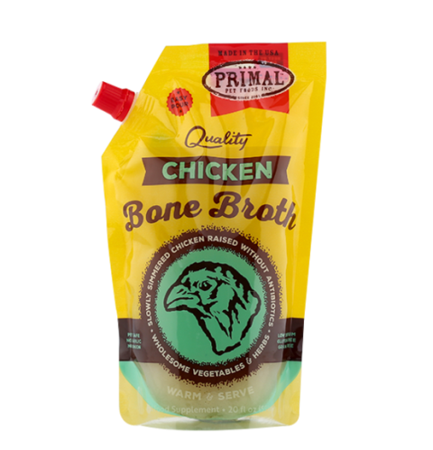 Primal Frozen Chicken Bone Broth - 20 fl. oz.
