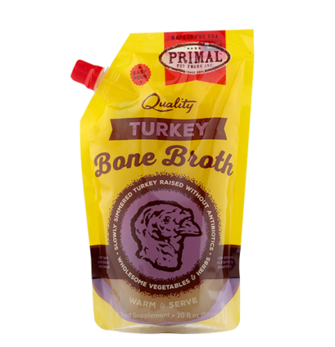 Primal Frozen Turkey Bone Broth - 20 fl. oz.