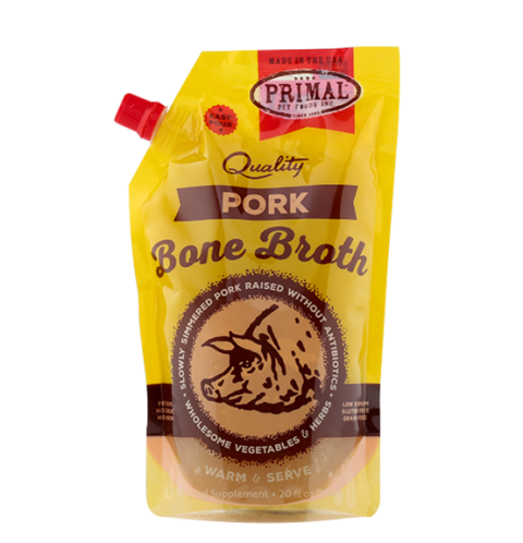 Primal Frozen Pork Bone Broth - 20 fl. oz.