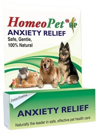 HomeoPet Anxiety Relief - Safe, Gentle, 100% Natural