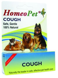 HomeoPet Cough - Safe, Gentle, 100% Natural
