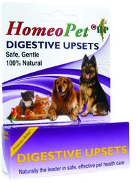 HomeoPet Digestive Upsets - Safe, Gentle, 100% Natural