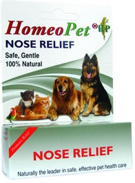 HomeoPet Nose Relief - Safe, Gentle, 100% Natural