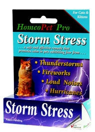 HomeoPet Storm Stress for Cats & Kittens - Safe, Gentle, 100% Natural
