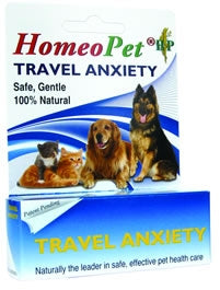 HomeoPet Travel Anxiety - Safe, Gentle, 100% Natural