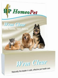 HomeoPet WRM Clear - Safe, Gentle, 100% Natural