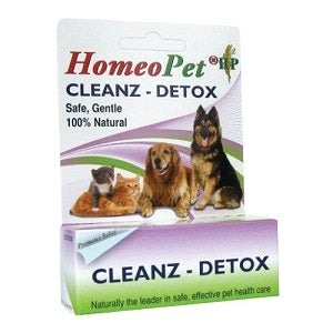 HomeoPet Cleanz - Detox - Safe, Gentle, 100% Natural