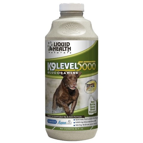 Liquid Health Naturals K9 Level 5000 Hip & Joint Glucosamine Supplement
