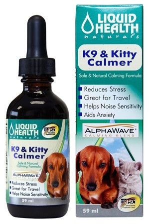 Liquid Health Naturals K9 & Kitty Calmer - 59 ml