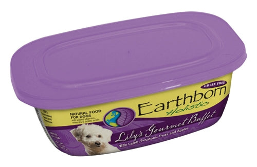 Earthborn Holistic Lily's Gourmet Buffet Dog Food - 9 oz. resealable tub