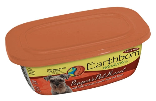 Earthborn Holistic Pepper's Pot Roast Dog Food - 9 oz. resealable tub