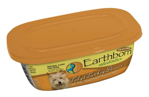 Earthborn Holistic Toby's Turkey Dinner Dog Food - 9 oz. resealable tub