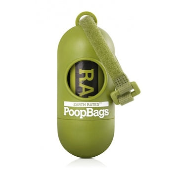 Earth Rated Poop Bag Dispenser with Lavender Roll