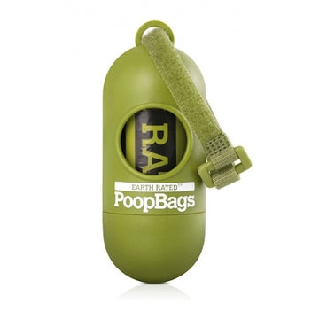 Earth Rated Poop Bag Dispenser with Unscented Roll