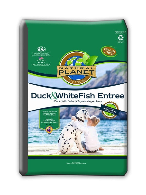 Natural Planet Duck & Whitefish Grain Free Dog Food