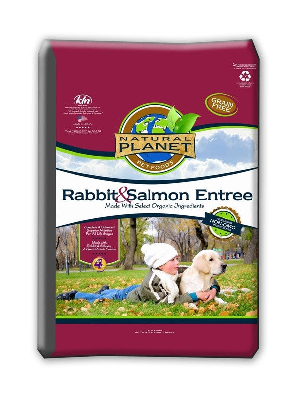 Natural Planet Rabbit & Salmon Grain Free Dog Food