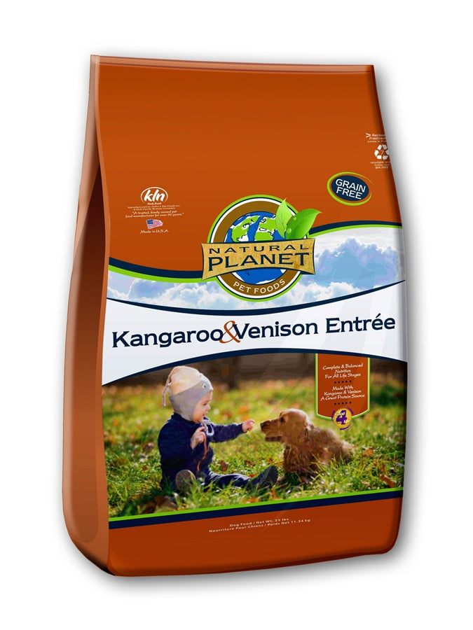 Natural Planet Kangaroo & Venison Grain Free Dog Food