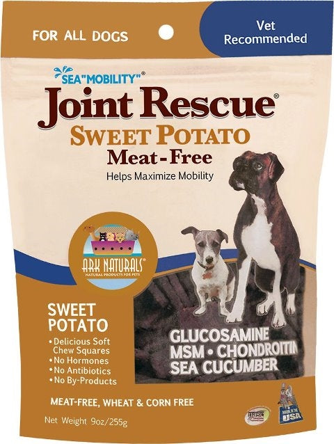 Ark Naturals Sea Mobility Joint Rescue Sweet Potato (Meat Free) Dog Treat - 9 oz.