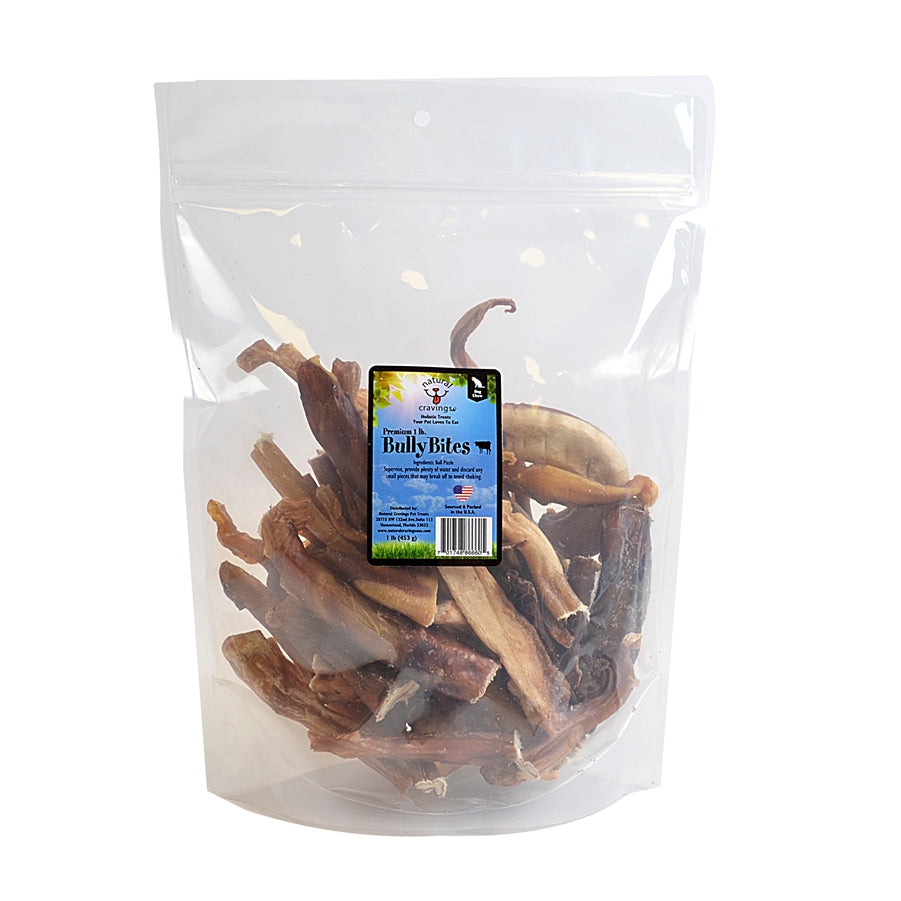 Natural Cravings Bully Bites Dog Chew Treat - 8 oz