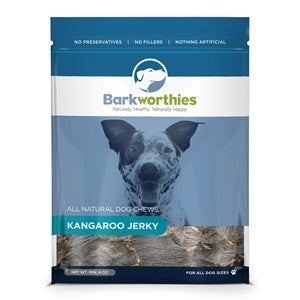 Barkworthies All Natural Kangaroo Jerky Dog Treat - 4.0 oz.