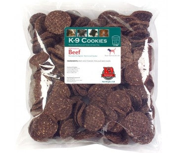 K-9 Kravings Beef Cookies Dog Treats - 8 oz.