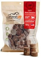 Momentum Carnivore Nutrition Freeze Dried Raw Beef Heart Dog & Cat Treat - 4 oz.