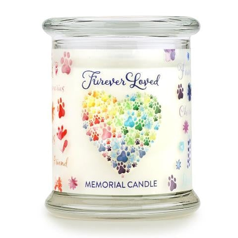 ONE FUR ALL PET HOUSE CANDLE - FUREVER LOVED MEMORIAL
